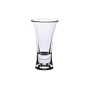 Thunder Group 2 Oz. Clear Polycarbonate Flared Shot Glass, 24/Pack (PLTHSG002AC)