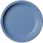 "Cambro Camwear® 10"" Narrow Rim Slate Blue Plate, 48/Pack (10CWNR401)"