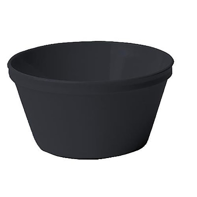 Cambro Camwear Round Bouillon Bowl, 8 2/5 Oz., Black, 48/Pack (35CW110) 2475471