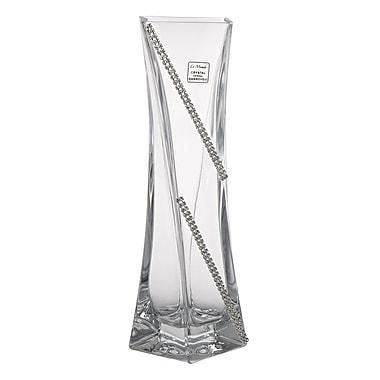 ClassicTouch Swarovski Crystal Bud Vase