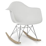 Belleze Rocking Chair; White