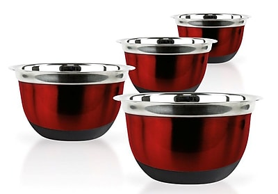 Imperial Home 4 Piece Stainless Steel Mixing