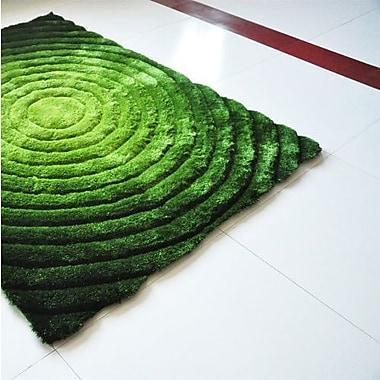 Rug Tycoon Green Area Rug