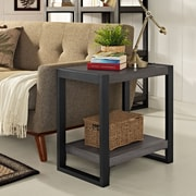 Walker Edison Angelo Home Wood Side Table (W24CGSTCL)