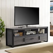 "Walker Edison Angelo Home 60"" Charcoal TV Stand (W60CGS1CL)"