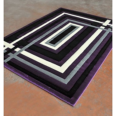 Rug Tycoon Purple Area Rug; 7'11'' x 9'10''