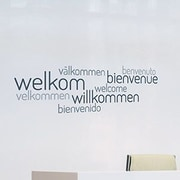 Paperflow Office Deco Transfer Welcome Wall Decal