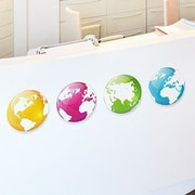 Paperflow Office Deco Transfer Globe Wall Decal