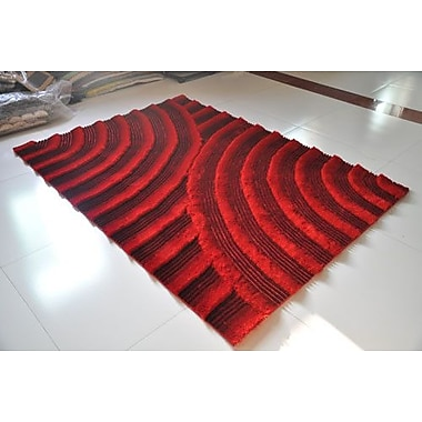 Rug Tycoon Red Area Rug; 7'11'' x 9'10''