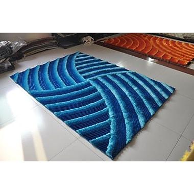 Rug Tycoon Turquoise Area Rug; 7'11'' x 9'10''