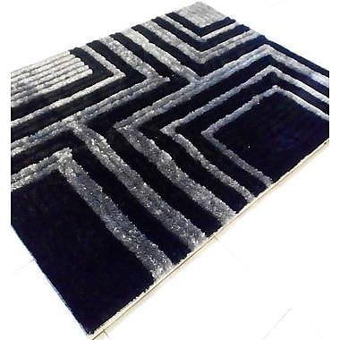 Rug Tycoon Black Area Rug; 5'3'' x 7'2''