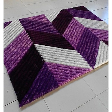 Rug Tycoon Purple Area Rug; 7'11'' x 9'10''