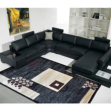 Rug Tycoon Black Area Rug; 7'11'' x 9'10''