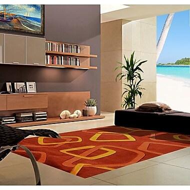 Rug Tycoon Terracotta Area Rug; 5'3'' x 7'2''