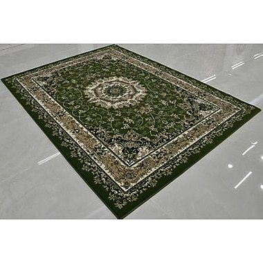 Rug Tycoon Green Area Rug; Runner 2'7'' x 14'6''