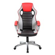 United Chair Industries LLC High-Back PU Executive Racing Style Swivel Gaming Chair
