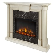 Real Flame Maxwell Electric Fireplace; Whitewash