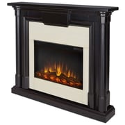 Real Flame Maxwell Electric Fireplace; Blackwash