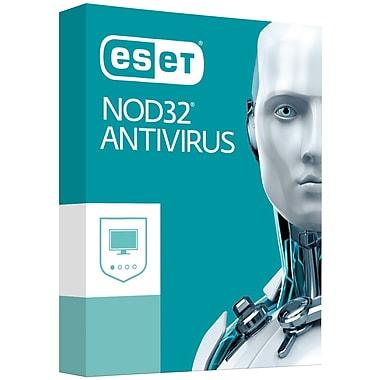 ESET – Logiciel Nod32 Antivirus pour Windows 2017, 3 utilisateurs, bilingue