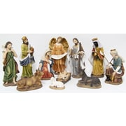 Hi-Line Gift 81712, Nativity, 11-Piece Set, 8""