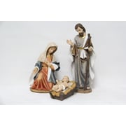 Hi-Line Gift 81713-A, Nativity, 3-Piece Set, 16""