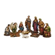 Hi-Line Gift 81890, Nativity & Three Wise Men, 11 Piece Set, 12""