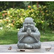 Hi-Line Gift – Bouddha priant assis