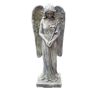 Hi-Line Gift Angel Standing, Clayfibre