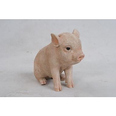 Hi-Line Gift Sitting Baby Pig