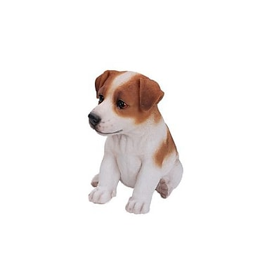 Hi-Line Gift – Statue Amis animaux, chiot Terrier Jack Russel