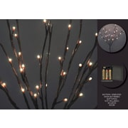 Hi-Line Gift Floral Lights, Willow Branch, Battery Operated with Timer