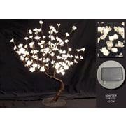 Hi-Line Gift – Lumières florales, bonsaï, 128 lumières, adaptateur c. a.