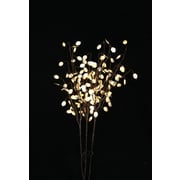 Hi-Line Gift 37361, 144 Floral Lights, Silver Dollar, 144 LED Lights