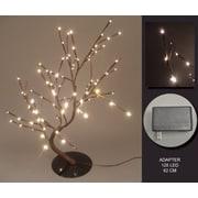 Hi-Line Gift – 128 lumières florales, bonsaï saule, 128 DEL, 37370