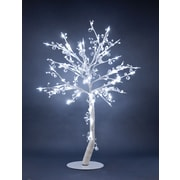 Hi-Line Gift 37381, 96 Floral Lights, Crystal Tree, 384 Crystals, 96 LED Lights