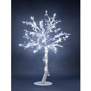 Hi-Line Gift – 96 lumières florales, arbre orné de cristaux, 384 cristaux, 96 DEL, 37 381