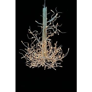 Hi-Line Gift – Lustre à rameaux lumineux, 176 DEL, blanc
