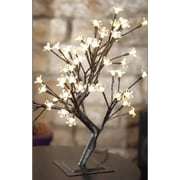 Hi-Line Gift Floral Lights, Bonsai Tree, 96 Warm White LED Lights, Indoor/Outdoor