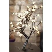 Hi-Line Gift – Lumières florales, bonsaï, 96 DEL de couleur blanc chaud, intérieur/extérieur