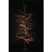 Hi-Line Gift 37424-L, Floral Lights-Tree with 280 Warm White LED Lights, 84""