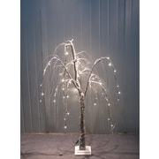 Hi-Line Gift Brown Willow Tree with Snow