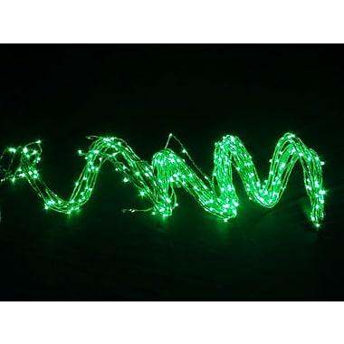 Hi-Line Gift – Guirlande de lumières DEL, 350 DEL, 1,5 m, intérieur seulement, vert