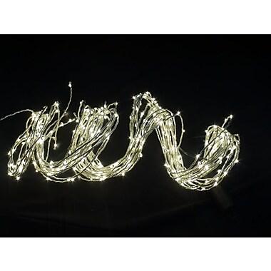 Hi-Line Gift – Fil de lumières DEL, 350 DEL, 1,5 m, intérieur seulement, blanc chaud