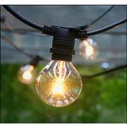 Hi-Line Gift – Guirlande de lumières, intérieur/extérieur, ampoules incluses (37501-25)