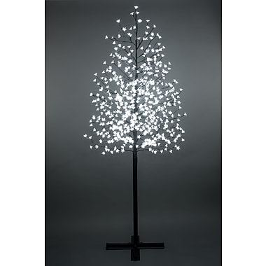 Hi-Line Gift Floral Lights, Outdoor Cherry Blossom Tree, 576 LED Lights with Control