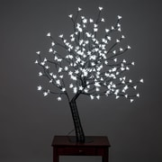 Hi-Line Gift Floral Lights, Outdoor Cherry Blossom Tree, 200 White LED Lights, Hi-Line Exclusive