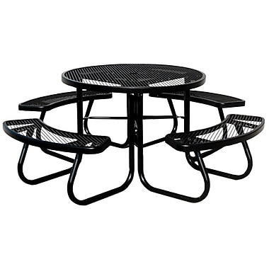 Paris Site Furnishings JX Series Round Picnic table, 46