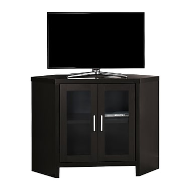Monarch I 2700 TV Stand with Glass Doors, 42