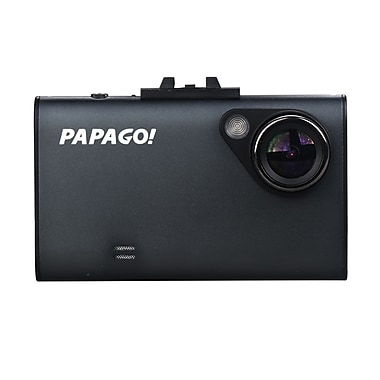PAPAGO – Caméra de tableau de bord GoSafe 220, HD intégrale avec carte microSD de 8 Go (GS2208G)
