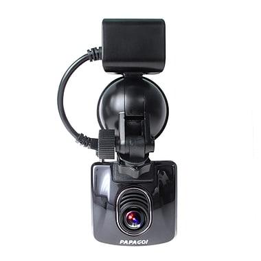 PAPAGO – Mini caméra de tableau de bord GoSafe 350, SUPER HD avec carte microSD de 8 Go en prime (GS3508G)